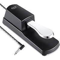 Donner DK-1 Universal Sustain Pedal Dämpferpedal für digitale Klaviere, elektronische Keybords