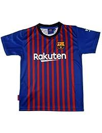 FC. Barcelona Camiseta Réplica Adulto Primera Equipación 2018/2019 - Dorsal Liso - Producto Bajo Licencia…