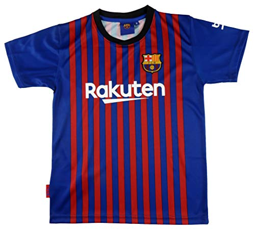 db3af0aa531d5 FC. Barcelona Camiseta Réplica Adulto Primera Equipación 2018 2019 - Dorsal  Liso - Producto