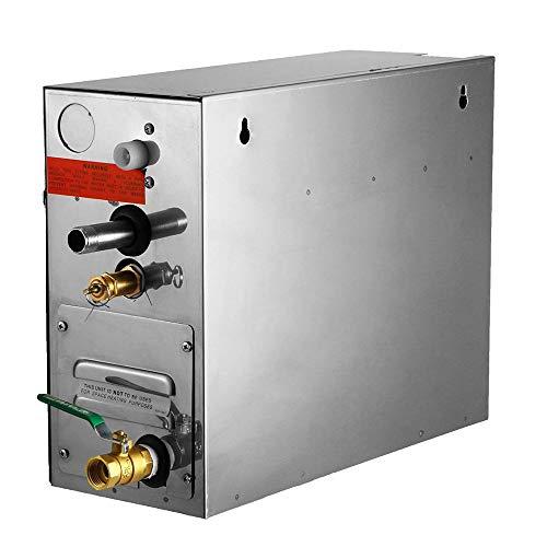 4YANG 6 KW Dampferzeuger Sauna-Badedampfer für Home-SPA-Dusche mit wasserdichter programmierbarer Steuerung Dampfbadgenerator