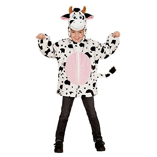 Wetter Motto Kostüm - Kapuzenjacke Kuh für Kinder