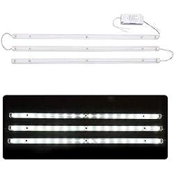 27W LED Deckenleuchten Modul streifen LED Umrüstsatz Leuchtmittel Kaltweiß Umbau Set für Austauschbar CFL Lampe, geeignet für Wohnzimmer, Schlafzimmer, Küchen, Balkon und Büro von Ankishi