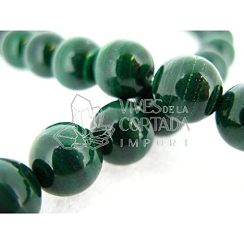 Fil Malachite Natural Boule 12 mm