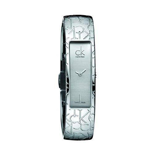 Calvin Klein Element K5023126 K5023126 - Orologio da polso da donna, cinturino in acciaio inox colore argento