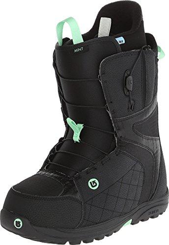 BURTON NUTRITION Burton - Womens Mint Snowboard Boots 2015, Black-Mint, 5 Burton Womens Mint Snowboard Boot