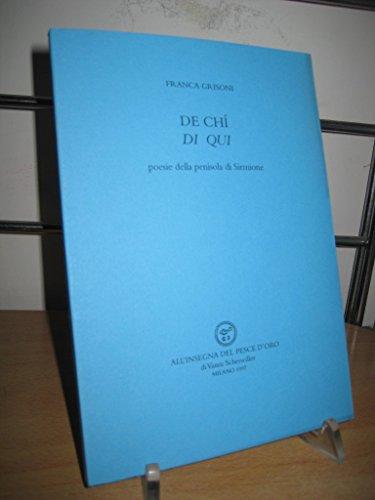 De chí-Di qui. Poesie della penisola di Sirmione - Amazon Libri
