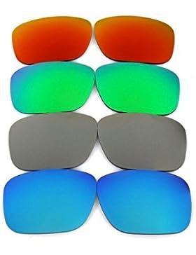 Galaxylense lentes de repuesto para Oakley Holbrook azul y gris y verde y rojo Color Polarizados,GRATIS ENVÍO...