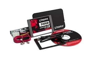 Kingston Technology 240GB 2.5 inch SSDNow V+200 SATA3 Solid State Drive Upgrade Bundle Kit