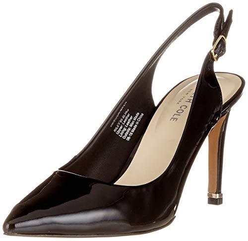 Kenneth Cole Damen Riley 85 Sling Slingback Pumps, Schwarz (Black 001), 41 EU Patent Slingback High Heel
