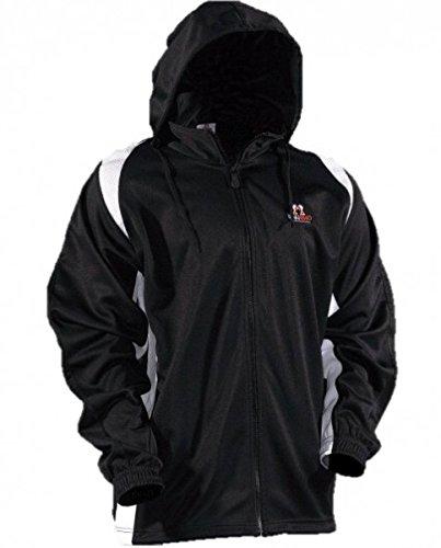 DanRho Trainingsanzug Klassik L schwarz/weiß