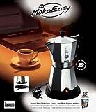 Da oggi, grazie a questa nuova idea Bialetti, potrai finalmente gustare il buon espresso italiano, anche in assenza di una fonte di calore. Moka easy unisce in sè comodità e praticità e trasforma il rito del caffè in un momento di autentico r...