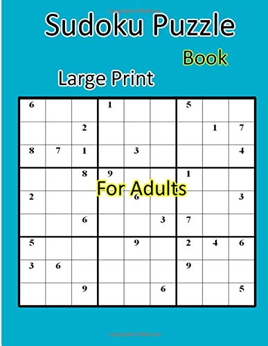 Sudoku Puzzle Books Large Print  For Adults: 360 puzzles por Tad aern