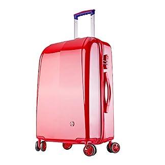 Maleta cabina 4 ruedas equipaje rigida barata Ligero ABS+PC equipaje viaje rojo 20101 Partyprince