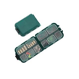 Xizi Outdoor Angeln Gadgets Box Angelausrüstung Zubehör (10 cm * 6,5 cm * 3 cm)