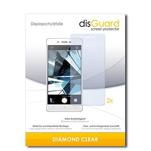 2 x disGuard® Bildschirmschutzfolie Oppo Mirror 5 Schutzfolie Folie