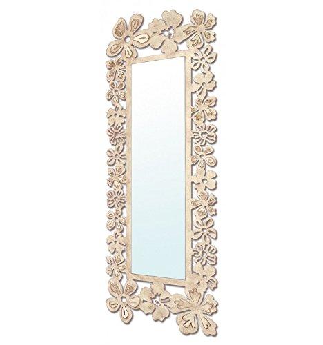 Espejo-vestidor-de-forja-modelo-Flores-16-Marfil-con-cobre-color-con-incremento-de-precio-apaisado