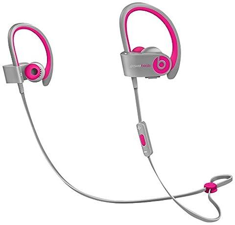 Beats by Dr. Dre Powerbeats2 Wireless Ohrhörer (In-Ear) pink/grau