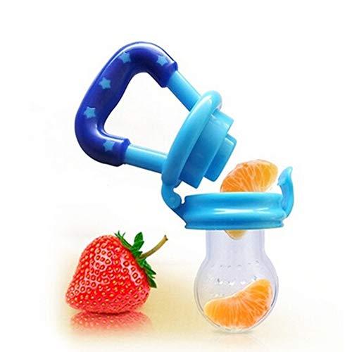 JingchenSilica Gel Nutritivo Bebé Chupete Fruta Sucker