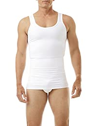 Underworks Mens Compression Body Shirt Girdle Gynecomastia Shirt