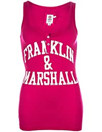 Franklin & Marshall - Camiseta sin mangas - para mujer rosa rosa 44