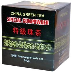 3 Packungen - GUNPOWDER VR China grüner Tee - lose -á 250g