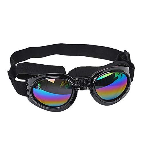 ZLD Hund Sonnenbrillen Haustier liefert große Hundebrillen UV-Schutz schützt die Augen Ihres Hundes vor Wind und Wasser und lässt Ihren Hund Outdoor-Aktivitäten nachgehen.