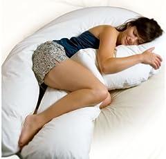 Adam Home Esclusivo Completo Body Gravidanza maternità Supporto grande C-U Forma cuscino e custodia Dimensione 12FT