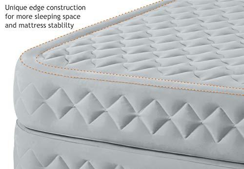 Intex – Aufblasbares Einzel-Gästebett mit Fiber-Tech-Technologie und Pumpe - 4