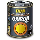Oxiron - Esmalte antioxido forja negro oxiron 4 l