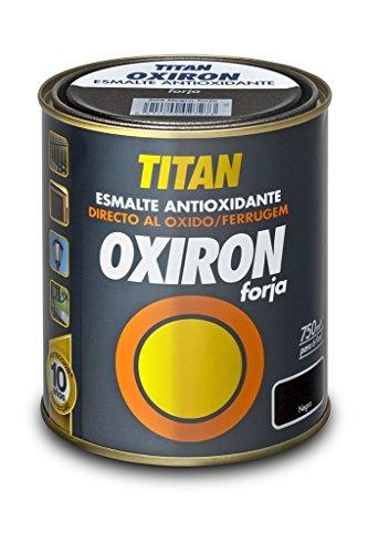 Esmalte Antioxidante OXIRON FORJA TITANLUX MARRON OXIDO 4 L