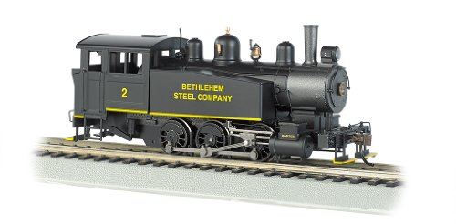 Bachmann Industries 060 Porter Side Tank Dcc Equipped Locomotive Bethlehem Steel # 2 HO Scale Train Car