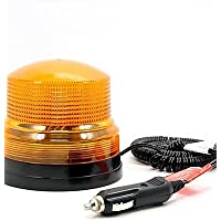 Auto flash singolo Spia Luci diurne Strobe auto della polizia carrello lampada vigili del fuoco,12V,Nero