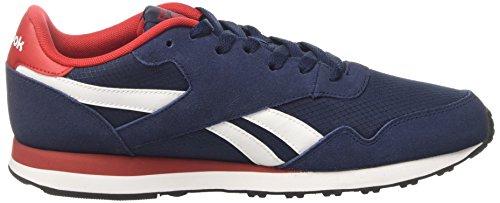 Reebok Herren Bd5614 Trail Runnins Sneakers Blau (Collegiate Navy/scarlet/white/black)