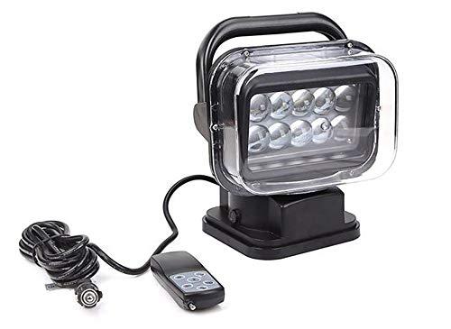 Awsgtdrtg 360 ° LED Suchscheinwerfer Fernbedienung Scheinwerfer Für Boote Auto Fahrzeug Offroad 1 STÜCKE 12 V / 24 V