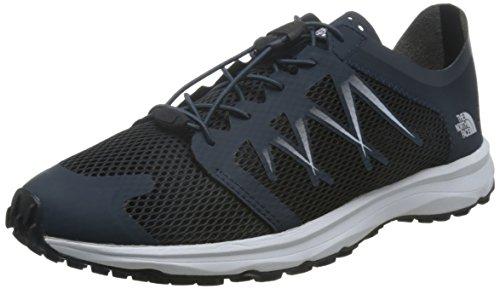 North Face Herren T92ya9m6s Trail Running Schuhe, Mehrfarbig (Azul Marino/Blanco), 42 EU -