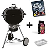 Weber Holzkohlegrill Master-Touch GBS Pro Charcoal Grill ø 57 cm Black