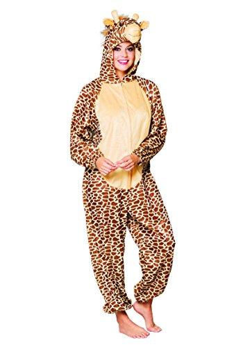 Boland 88403 Erwachsenenkostüm Giraffe Plüsch unisex-adult One Size
