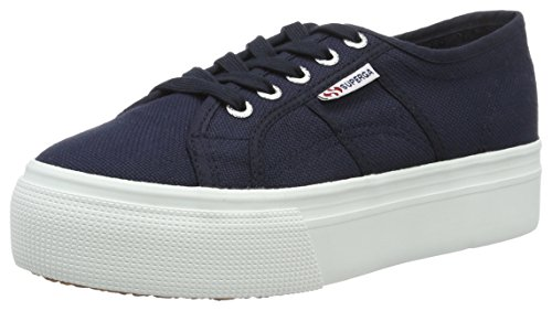 Superga - 2790 Acotw Linea Up And, Scarpe da ginnastica Donna , Blu (navy-white), 39 EU