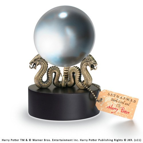 Noble Collection NN7467 - Harry Potter - Die Prophezeihung Kristallkugel, 13 cm (Requisiten Potter Aus Harry)