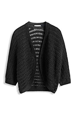 edc by Esprit Women's Tape Cardi 3/4 Sleeve Cardigan