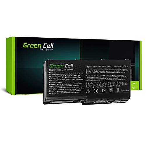 Green Cell Standard Serie PA3730U-1BRS Laptop Akku für Toshiba Qosmio G60 X500 X505, Toshiba Satellite P500 P505 (12 Zellen 8800mAh 10.8V Schwarz) -