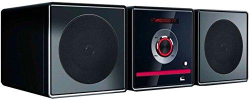 Mini Hi Fi Bluetooth Radio FM Altavoz Potencia 2x 5W Mando a...