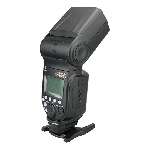 Yongnuo yn968N Wireless fotocamera Flash Speedlite Master ottico slave TTL HSS per Nikon