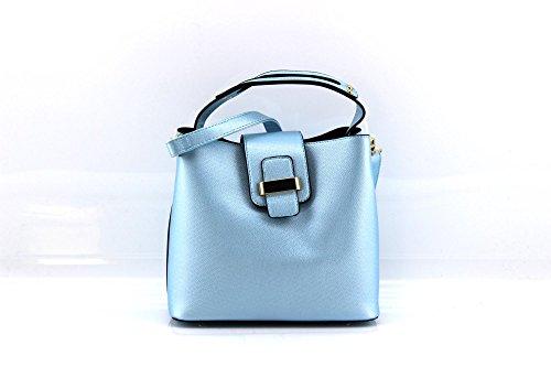 MODELISA  D7431, Sac bandoulière pour femme bleu clair