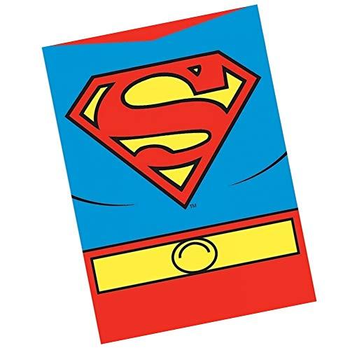 Echtes DC Comics Superman Kostüm Kühlschrankmagnet Geschenk Retro Kühlschrank Justice League