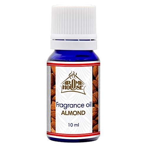 Aceite Fragancia Almendra 10ml - para Aroma Lámpara & Difusor - Adecuado Para Hacer Velas & Jabones...