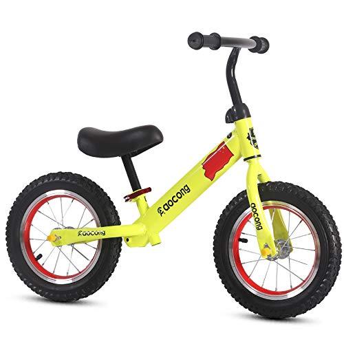 Bicicleta Sin Pedales Para Niños, Equilibrio Bici Sin Pedales Niño Balance Car Caminante Manillar...
