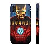 blitz versand germany ® 3D Avengers Helden Handy Hülle Glossy Glänzend Hard Premium Qualität Case Reaktor Iron Man M5 Samsung Galaxy A3 2016
