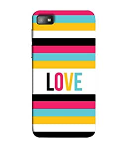 PrintVisa Designer Back Case Cover for Blackberry Z10 (multi color lovable lovely image)