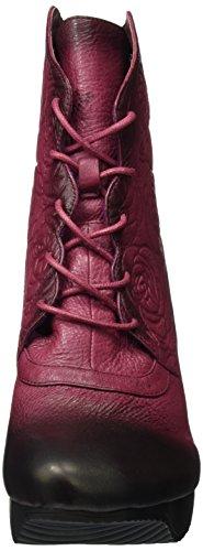 Laura Vita - Armance 101, Stivali a metà gamba con imbottitura pesante Donna Rosso (Rosso (Wine))